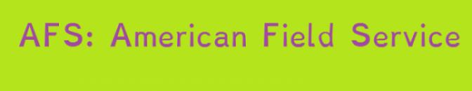 2012: AFS kommenterer «Et amerikansk mareritt»