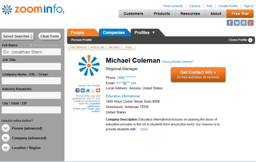 michael coleman regional manager