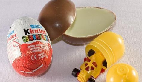 Kinder Surprise Eggs prohibited in the USA
